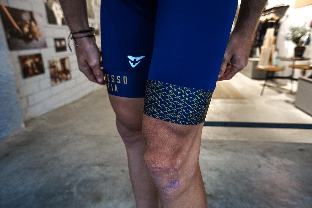 Espresso Mafia Bib Shorts - Blue