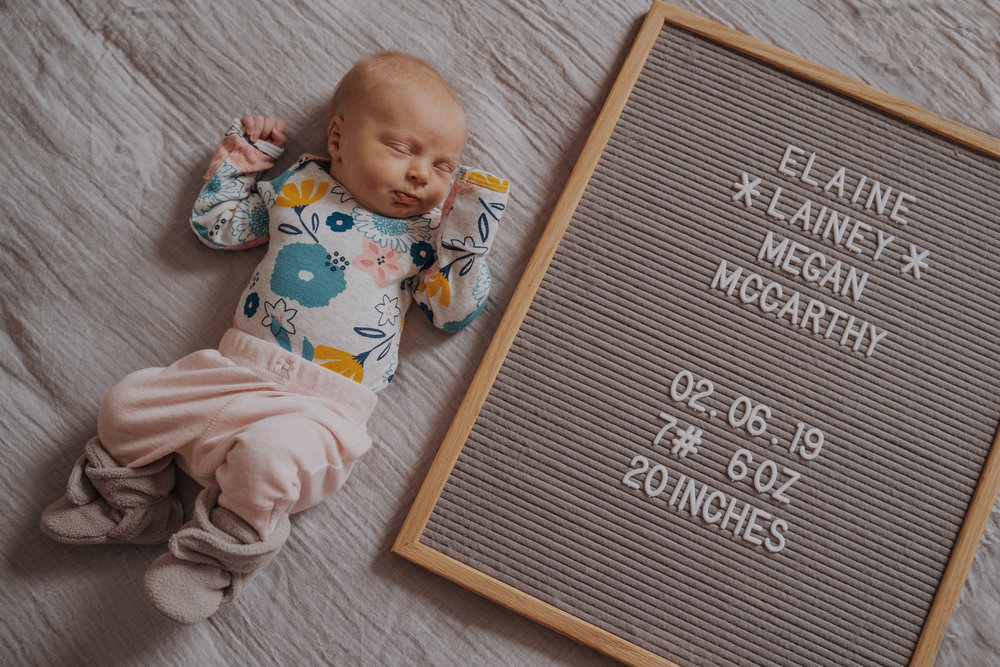 Newborn Lifestyle Photoshoot