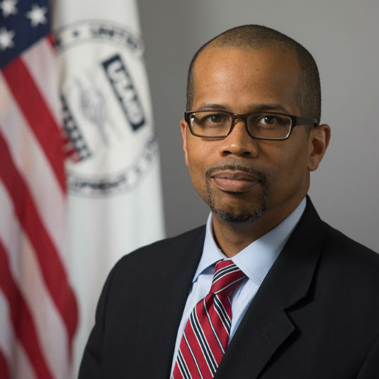 Nicholas Bassey, Division Chief, Frontier Partnerships,USAID.Master of Ceremonies -