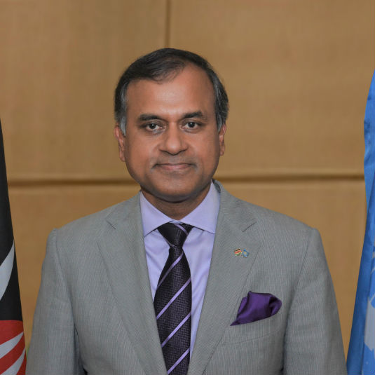 Siddharth Chatterjee,  UN Resident Coordinator/UNDP Resident Representative (RC/RR); Kenya