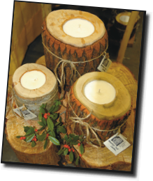MOUNTAIN TROLL CANDLES