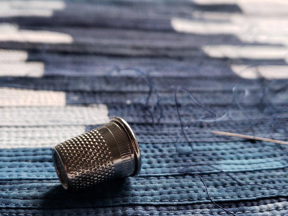 Texture, thread....slow...meditation