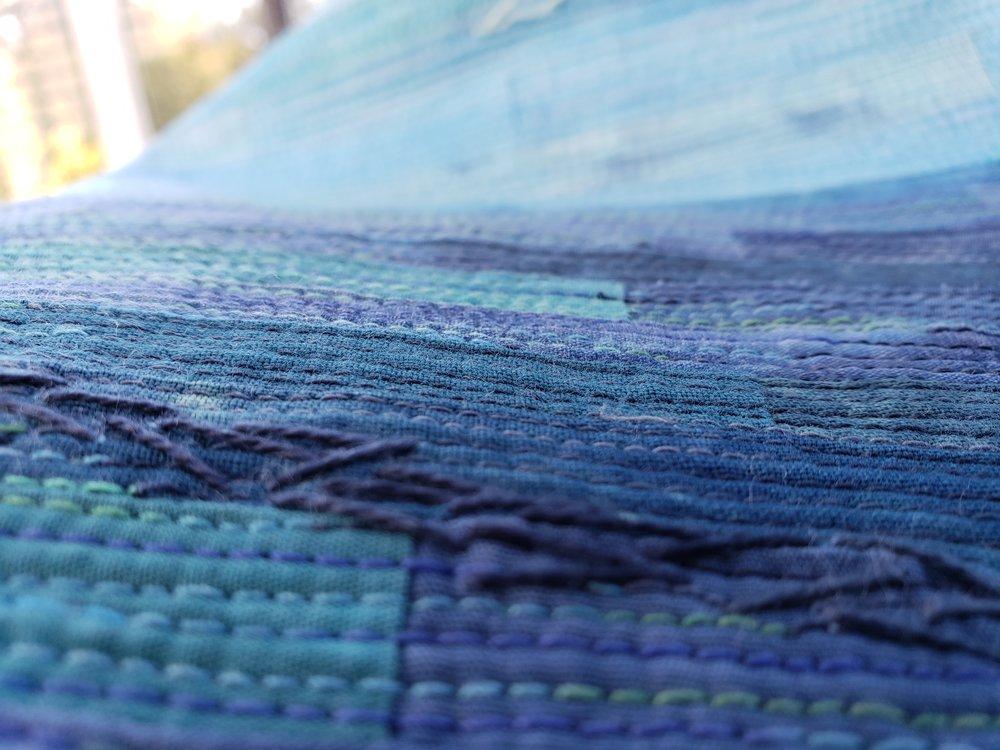 Texture...stitch...texture