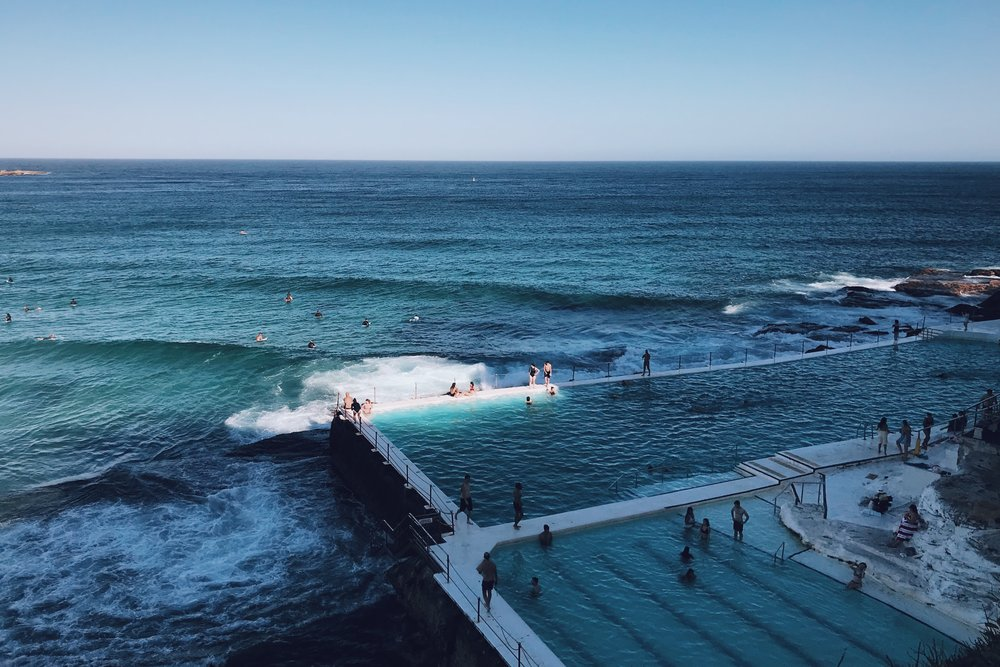 The famous Bondi Icebergs Pool