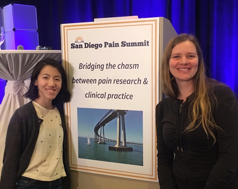 Wendy and Jenn at the San Diego Pain Summit