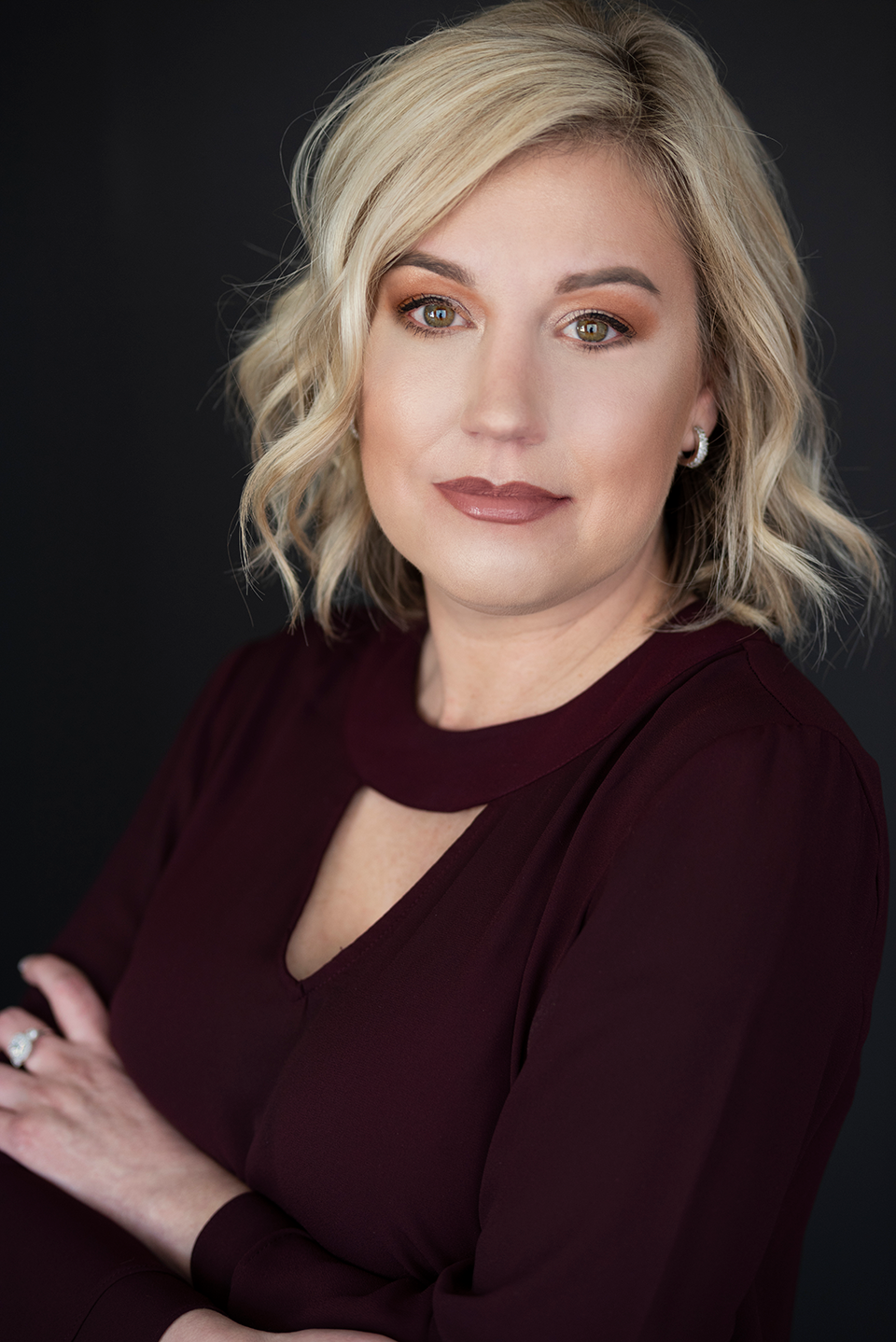 """Ashleigh - """"I thoroughly enjoyed getting glammed up and having you take my pictures, as you do amazing work! The reveal process is amazing and I love the video that you add in!"""""""