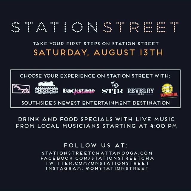 We are l👀King forward to helping to open @onstationstreet with our neighbors! 🚂 #choochoo #cha #chattanoogachoochoo #onstationstreet