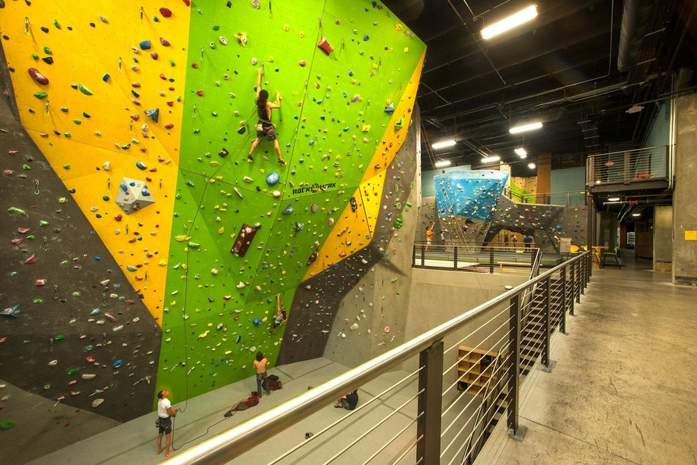highpoint climbing gym climbing wall