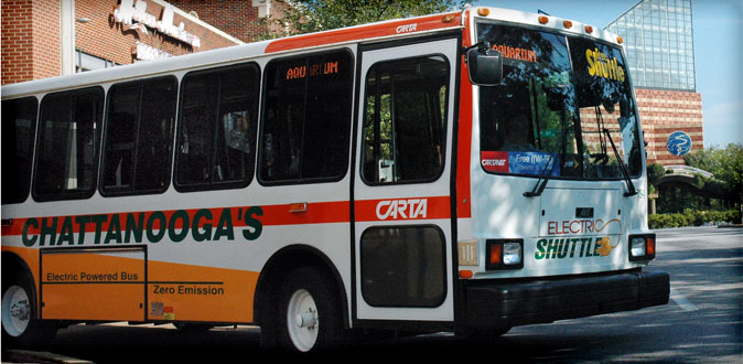 chattanooga shuttle services