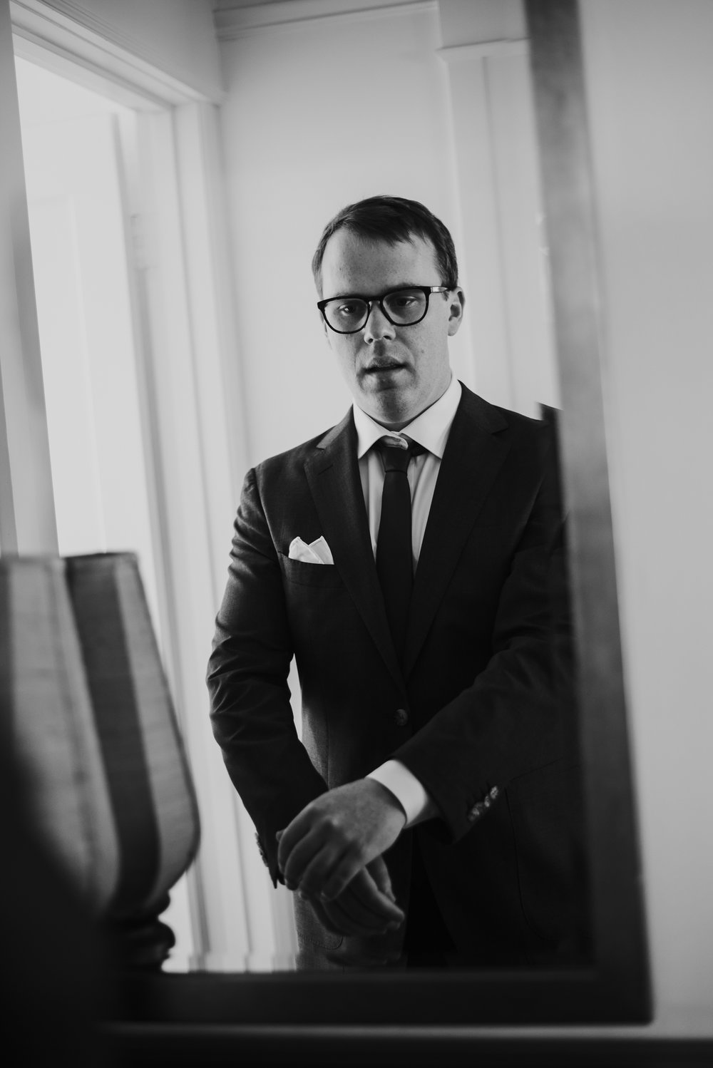 Groom Portraits by Dia Photography