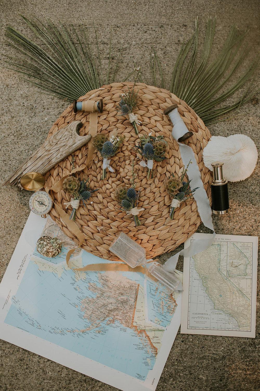 Nautical Wedding details