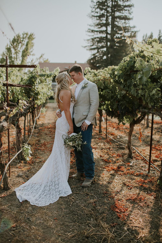 Romantic Vineyard Wedding- Napa, California -