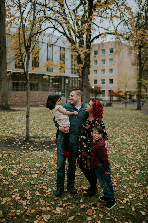Portland University Family Session - Portland, Or