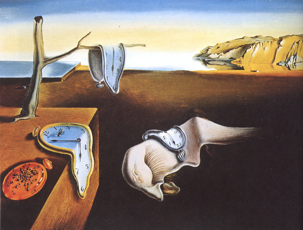 The Persistence of Memory (1931) by Salvador Dalí; Credit: wikiart.org