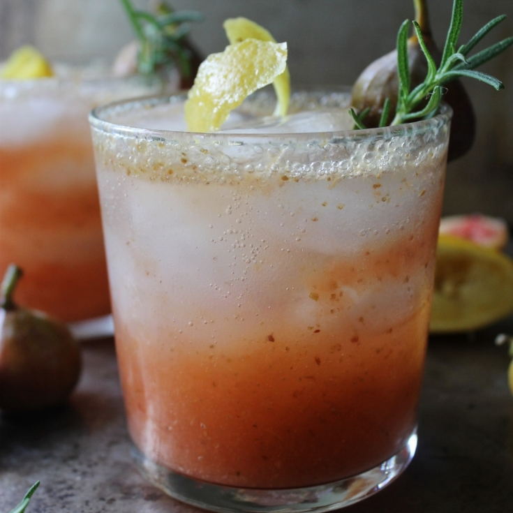 Chipotle Fig Margarita