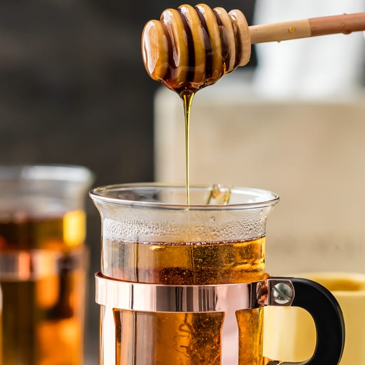 Smoked Peach Hot Toddy