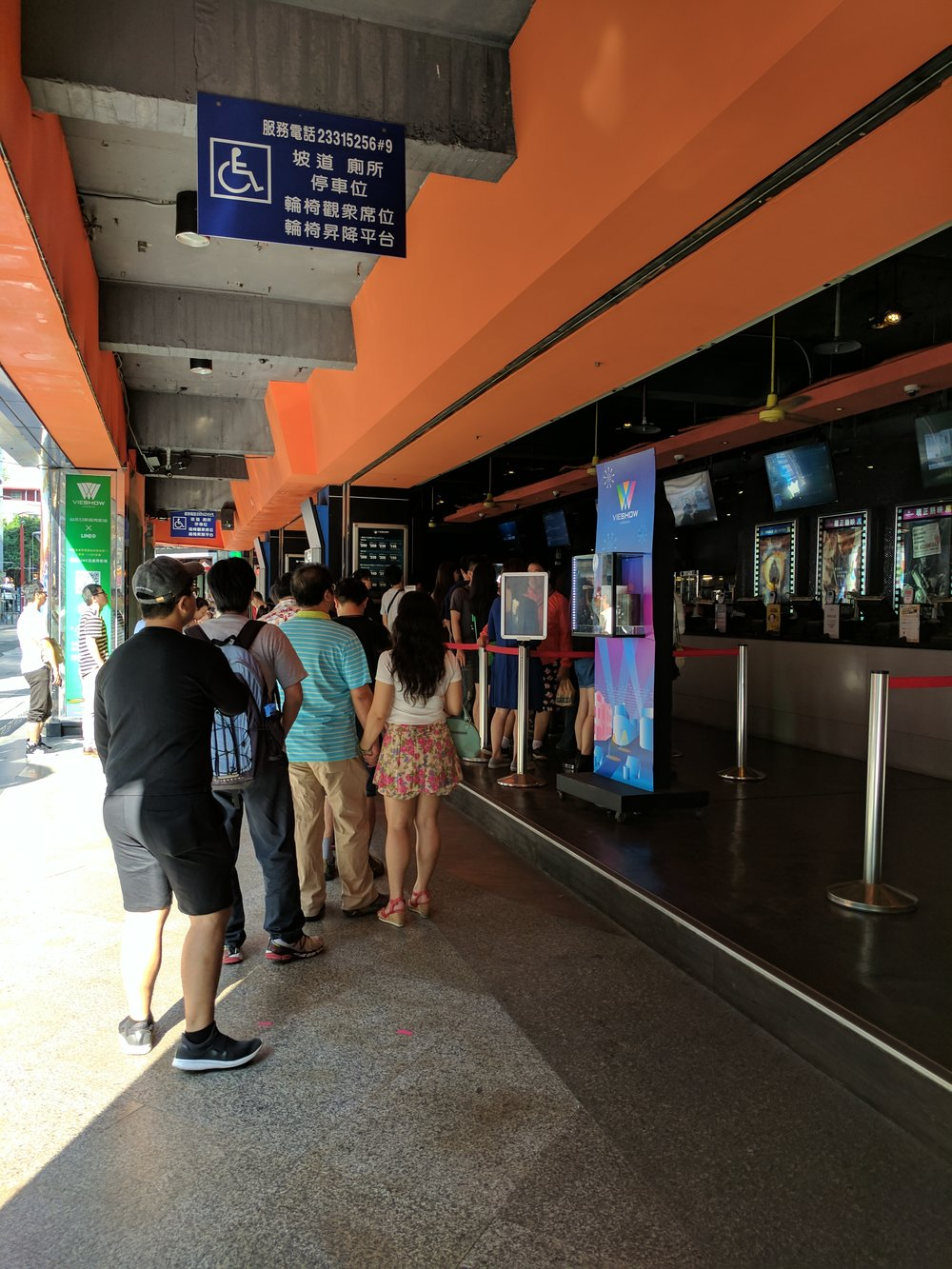can someone please explain to me why there were long lines at the movie theatre on a tuesday at 9am?