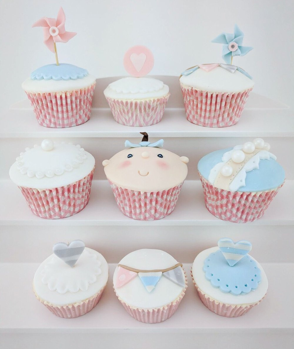 NEW BABY CUPCAKE COLLECTION