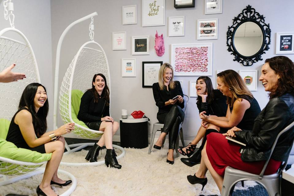 Sephora's formula for women in tech includes urging them to take risks without fear of failure. PHOTO: JASON HENRY FOR THE WALL STREET JOURNAL