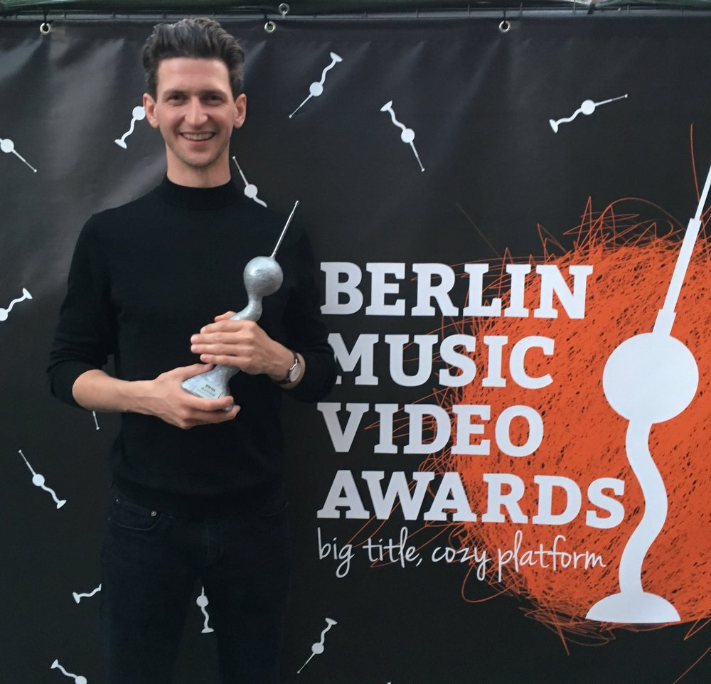Winner of the Berlin Music Video Awards - We won the Berlin Music Video Award for the Decisions music video in the Vegas Pro Competition Category.