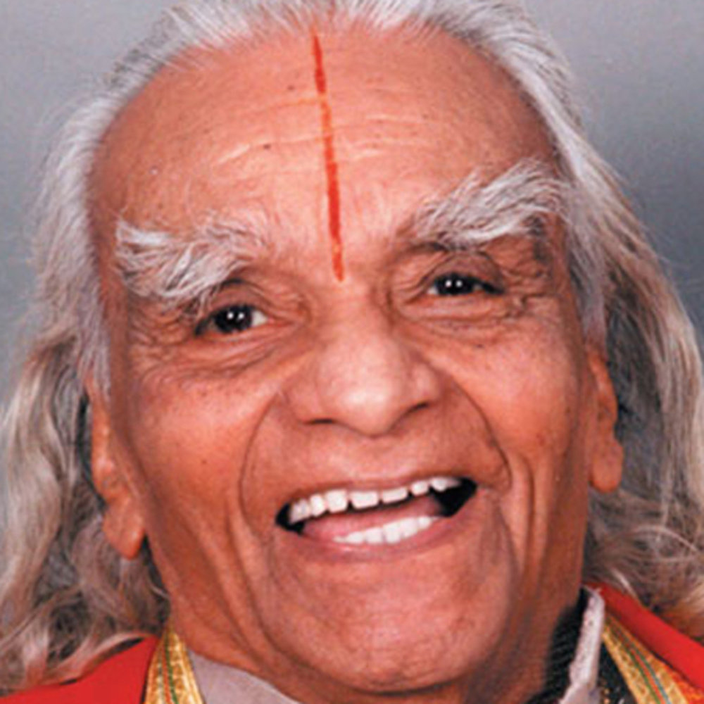 B.K.S Iyengar looking decidedly unstressed in this photo taken from  Yoga Journal  celebrating the renowned yogi.