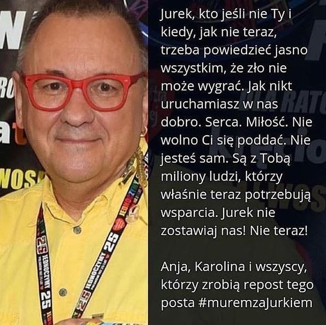 pomocy. 💔  #muremzaowsiakiem #muremzajurkiem #jurekzostań  @j_owsiak @karolinakp @anja_rubik