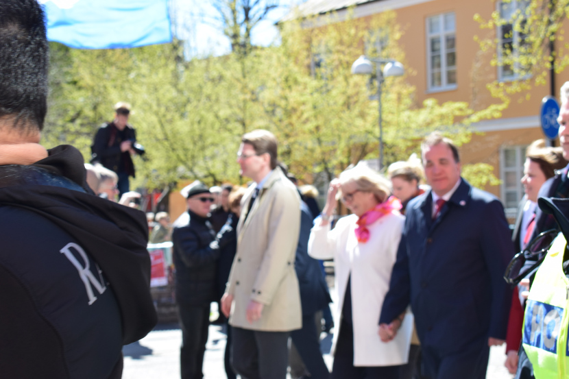 Malmö on the Labour Day: third trial – he is blurred
