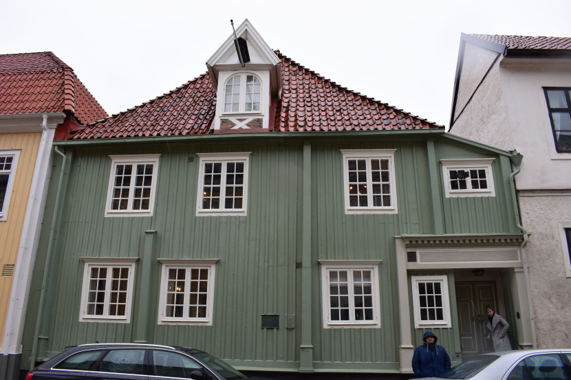 Carl Wahlbom house, Västra Sjögatan 4