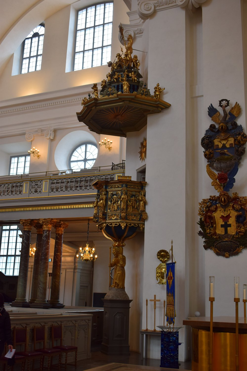 Kalmar Cathedral, the pulpit