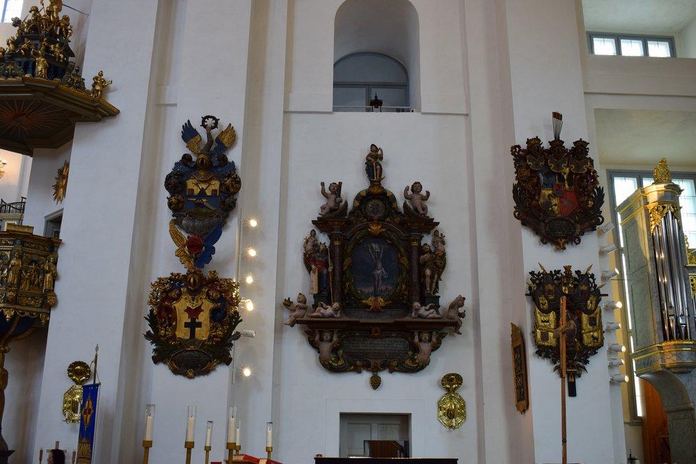 Kalmar Cathedral, the interior