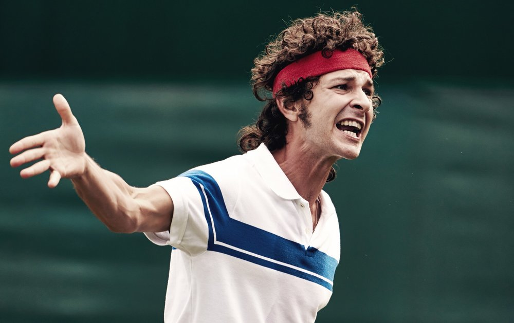 source: www.curzonartificialeye.com; Shia LeBeouf as John McEnroe