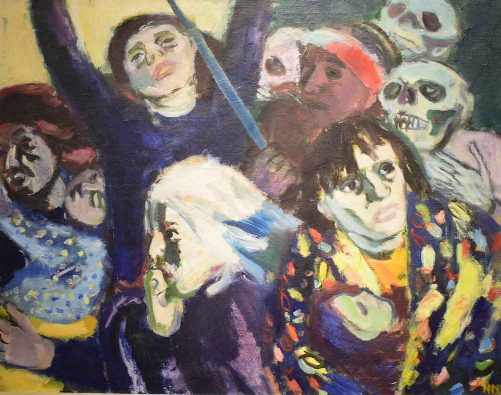 Nils Nilsson, Flyktingar (Refugees), 1937