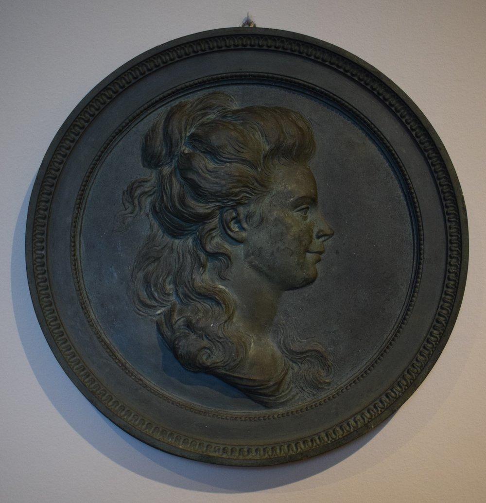 Johan Tobias Sergel, Porträttmedaljong av Juliana Cronstedt