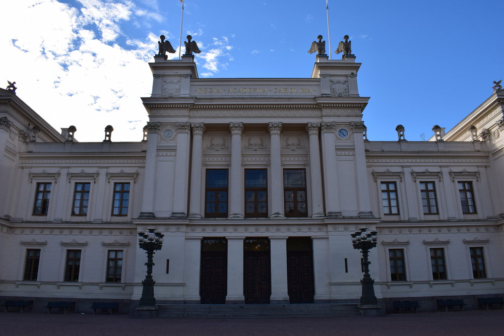 Helgo Zettervall, Lund main university building, 1874-1882, Lund