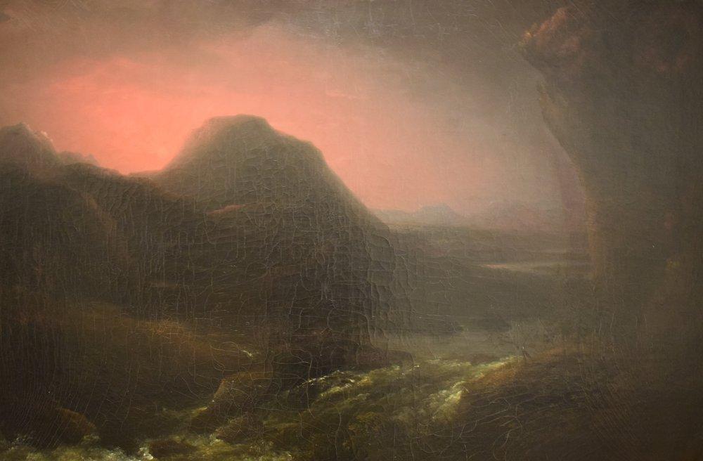 Carl Johan Fahlcrantz, Sunset in the Mountains, Göteborgs konstmuseum
