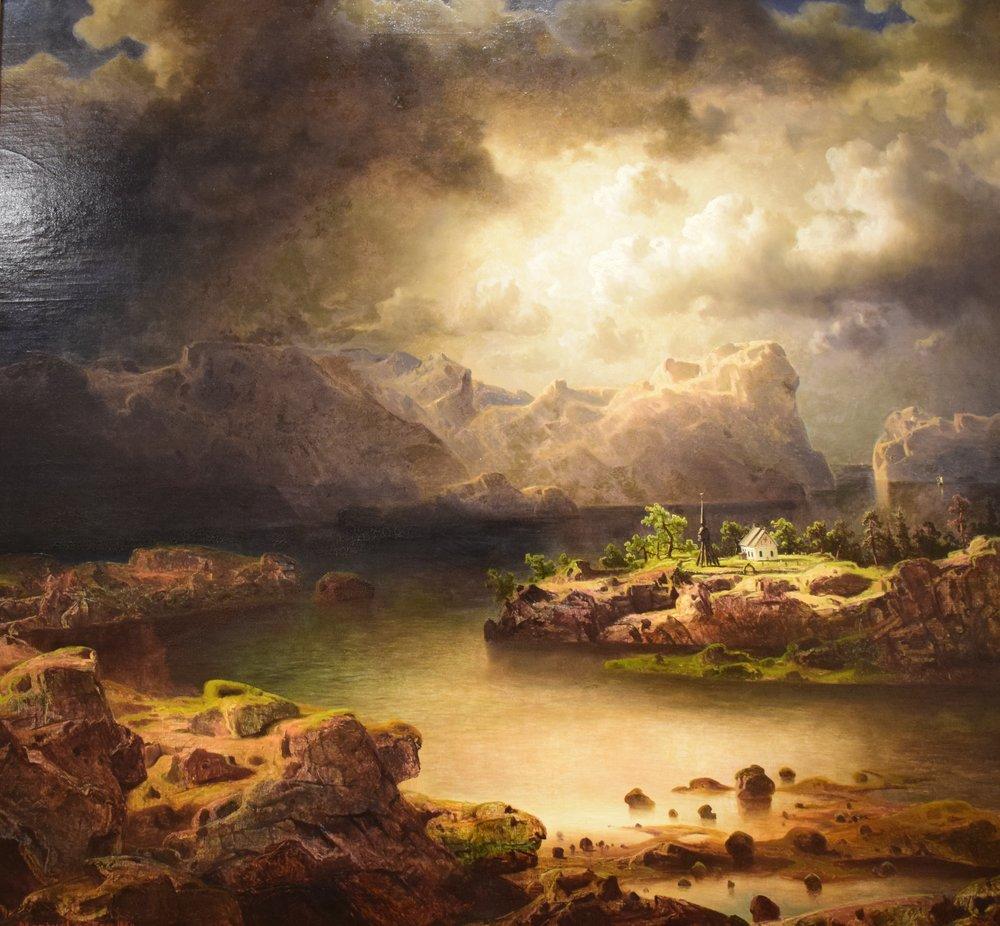Marcus Larson, Coast Landscape, 1860, Göteborgs konstmuseum