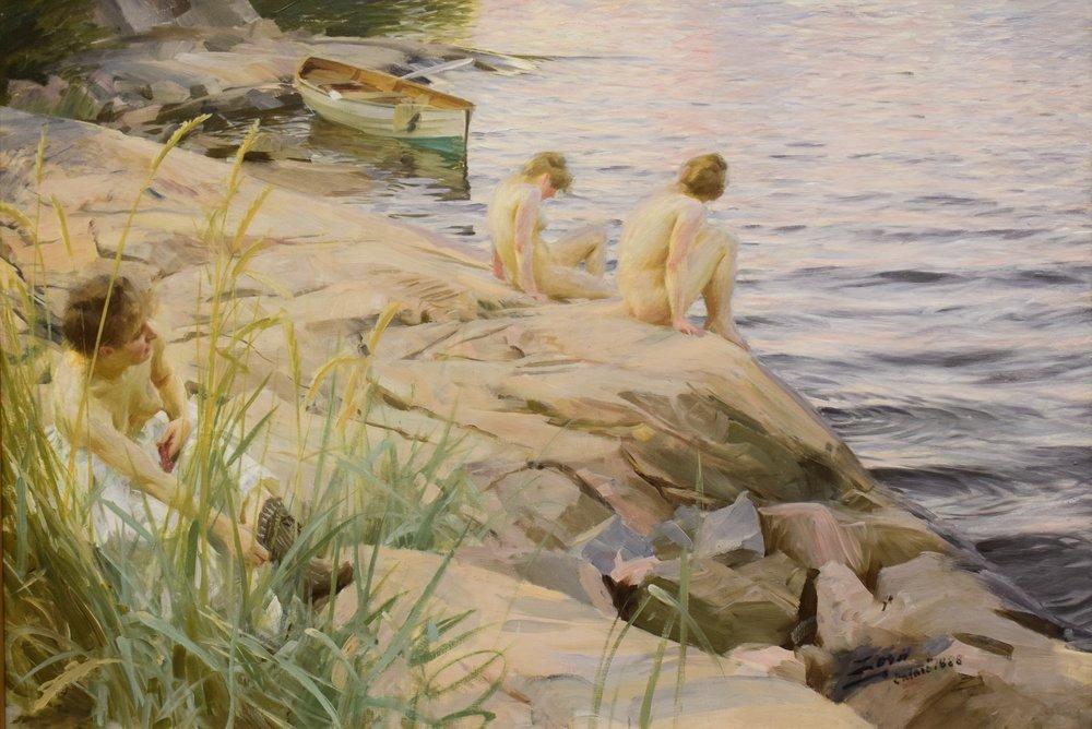Anders Zorn, Ute (Outdoors), 1888
