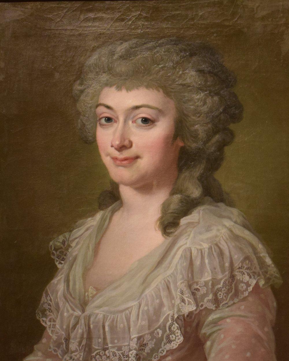 Lorens Pasch den yngre, Hedvig Eleonora von Fersen