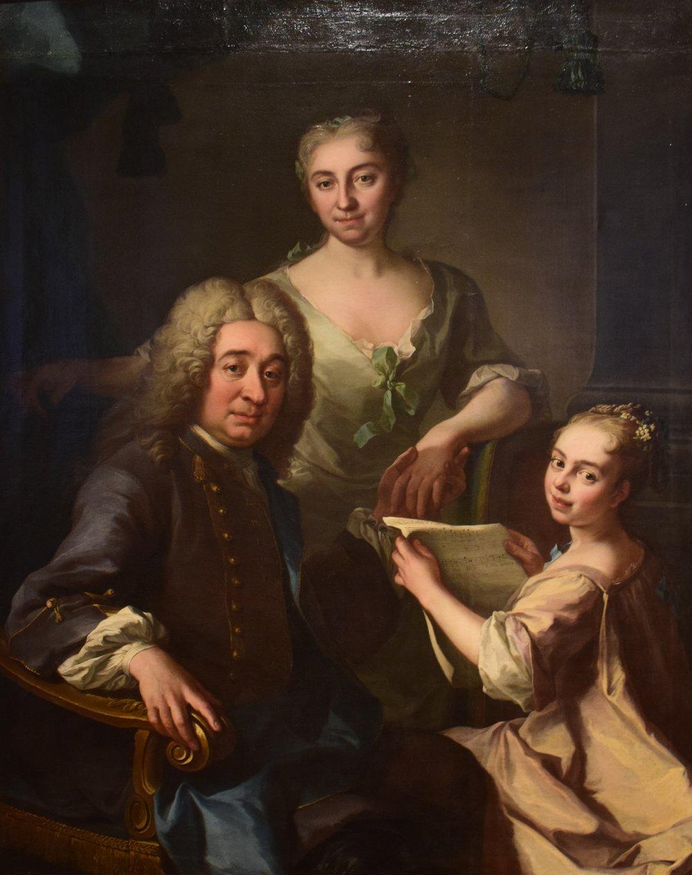 Martin van Mijtens den yngre, Familjen Carlos Grill (The Carlos Grill Family)