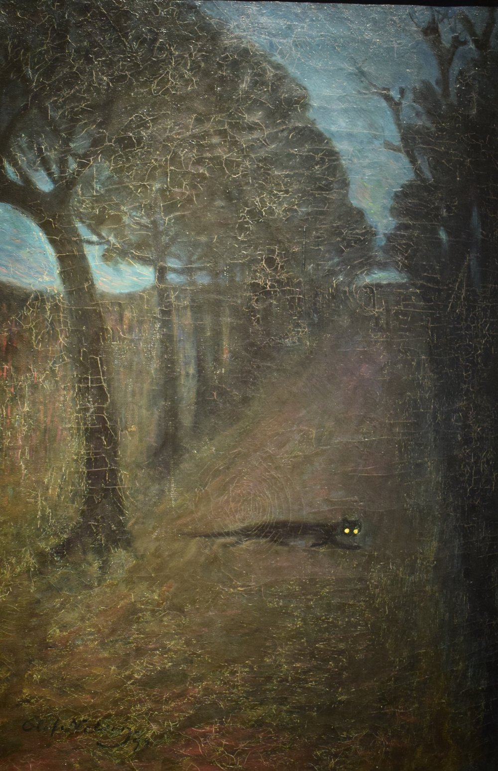 Olof Sager Nelson, Nocturne, 1893