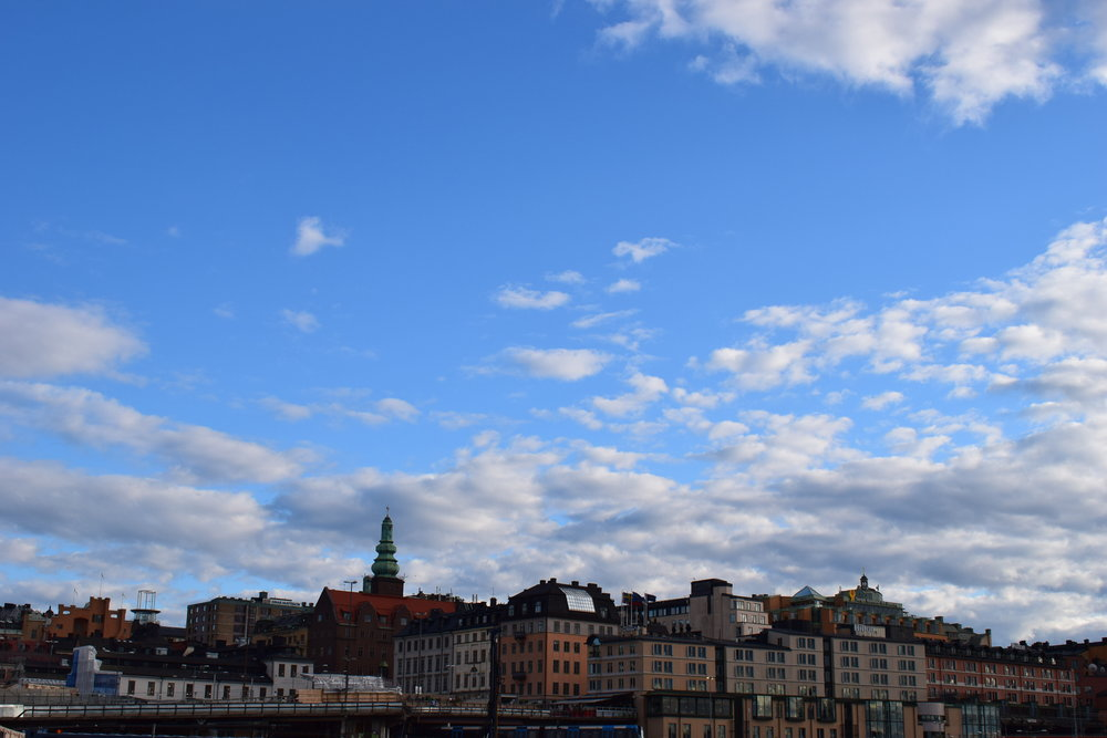 Stockholm - view of the city