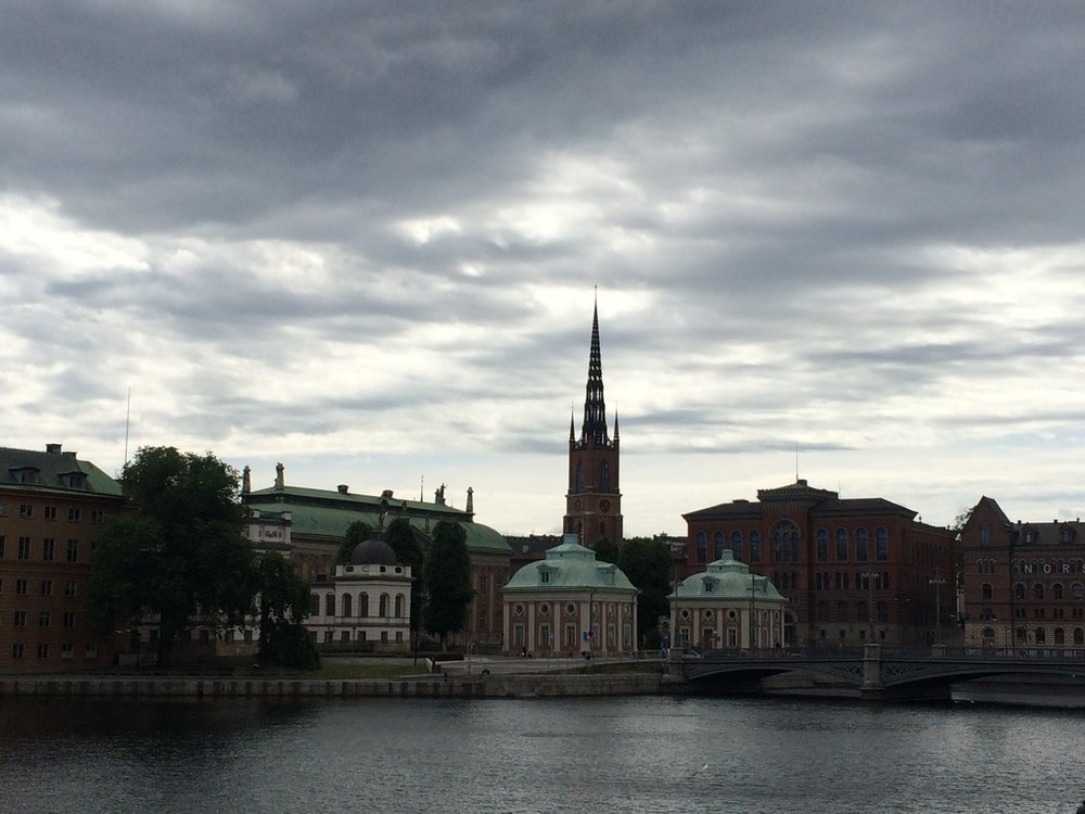 Stockholm - view of the city, Riddarholmen