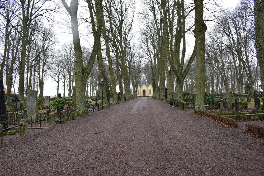 Kalmar - the cemetery