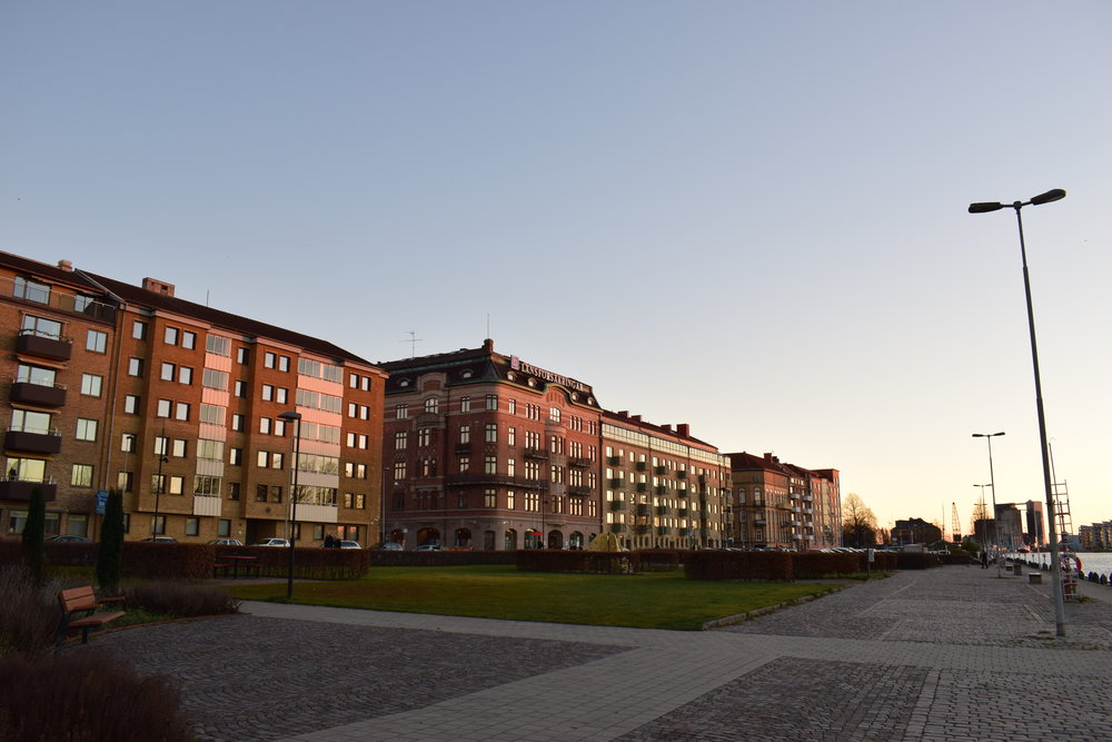 Halmstad - view of the city