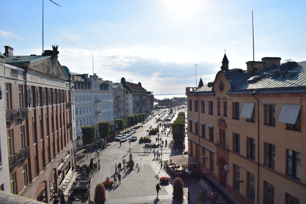 Helsingborg - view of the city