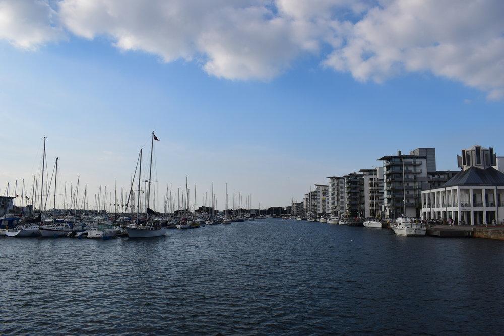 Helsingborg - the harbour