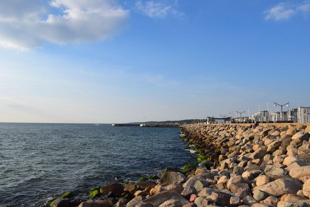 Helsingborg - the coast