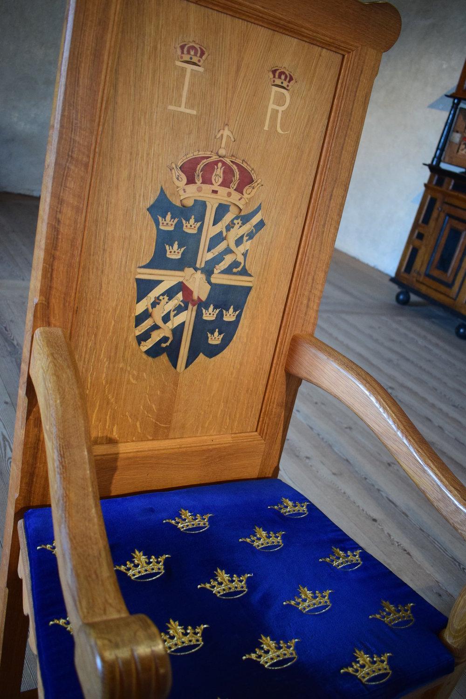 Kalmar Castle, the interiors