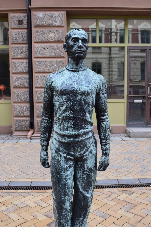 Ivar Johnson - Mannen i islandströja, Kristianstad