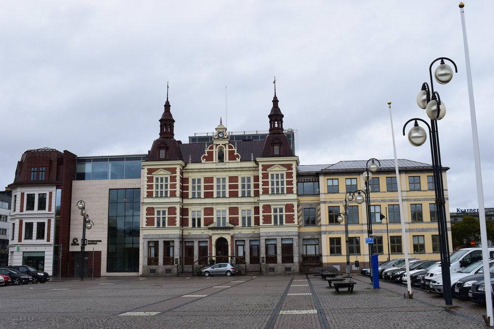 Kristianstad - the city